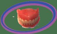 שיניים תותבות אקריל